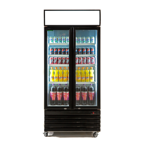 Genfrost GBU880H Hinged Door Display Cooler